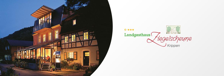 Landgasthaus Und Pension Sachsische Schweiz Ziegelscheune Krippen